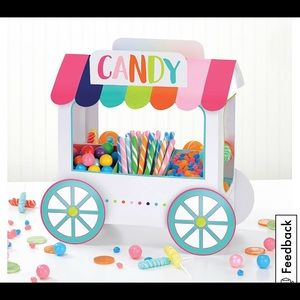 Candy cart decor for party